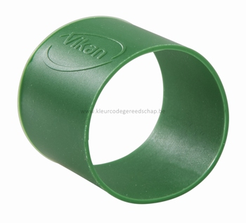 Rubber ring: per set van 5 ringen Ø 40 mm Groen